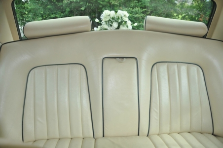 A 1976 Rolls-Royce Silver Shadow I is a true classic car in Seychelles Blue, complimented with Magnolia Leather with blue piping.