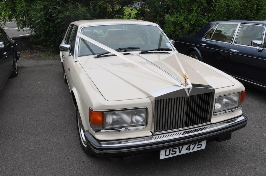 A 1984 Rolls-Royce Silver Spirit in stunning Magnolia.