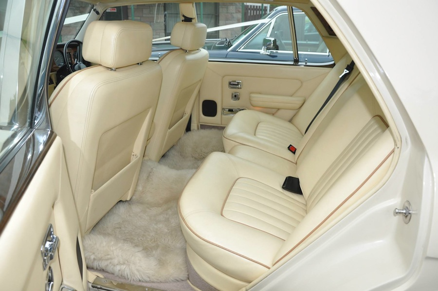 A 1984 Rolls-Royce Silver Spirit in stunning Magnolia, with matching Magnolia Leather, piped in Biscuit.