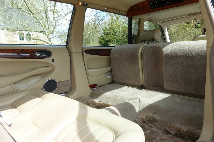 Daimler Eagle Interior